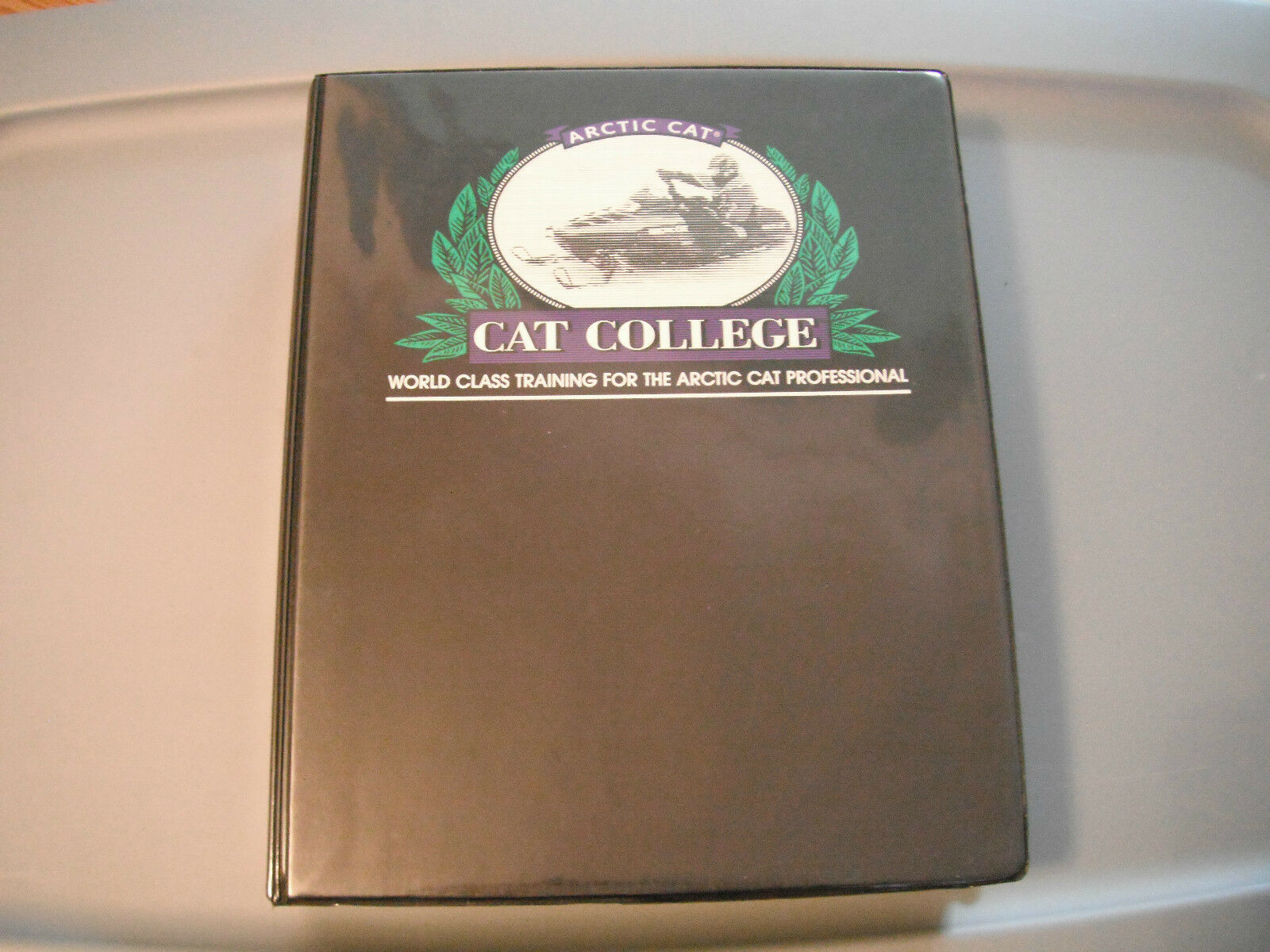 Arctic Cat  Cat College  Training Kit VHS Tapes and Manuals