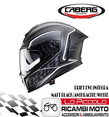 Caberg Casque Drift Noir Mat//Anthracite Taille XL