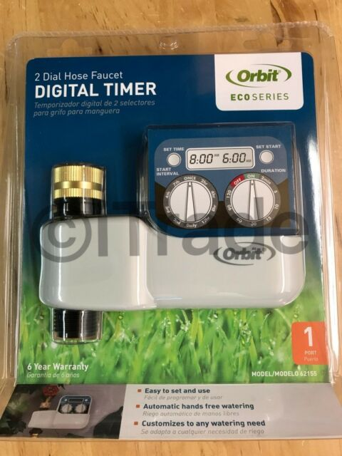 Orbit 62155 1-Program Digital Hose End Timer NEW Free Shipping
