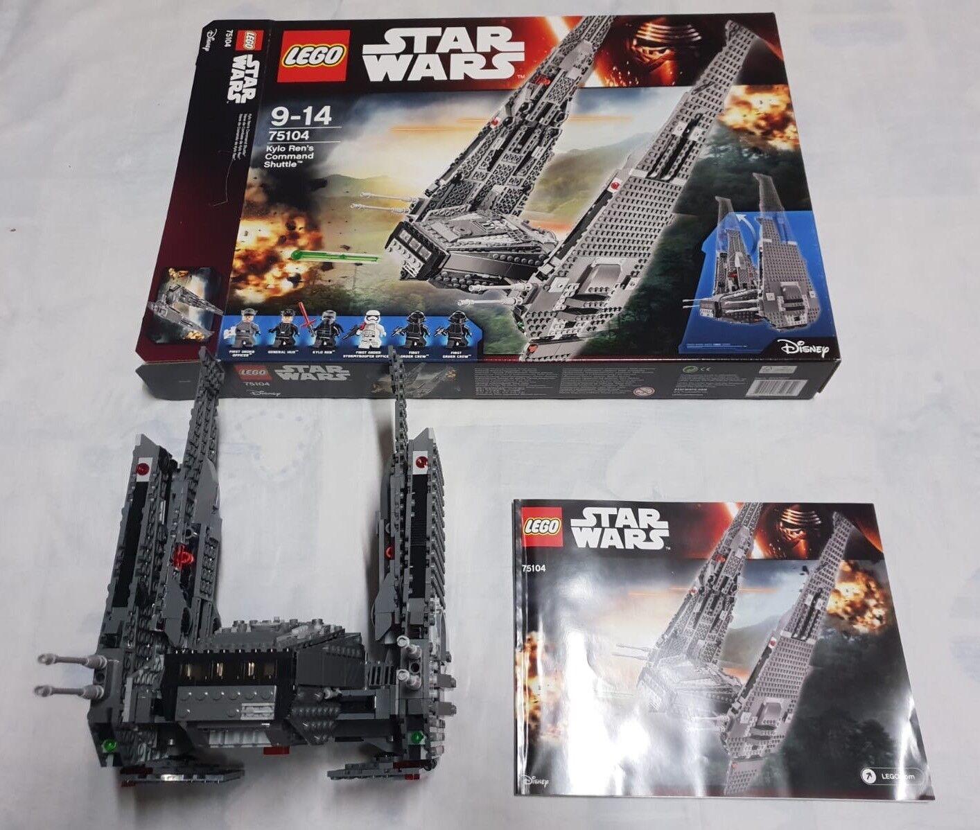 Lego Star Wars 75104  Kylo Ren Shuttle NO MINIFIGURE