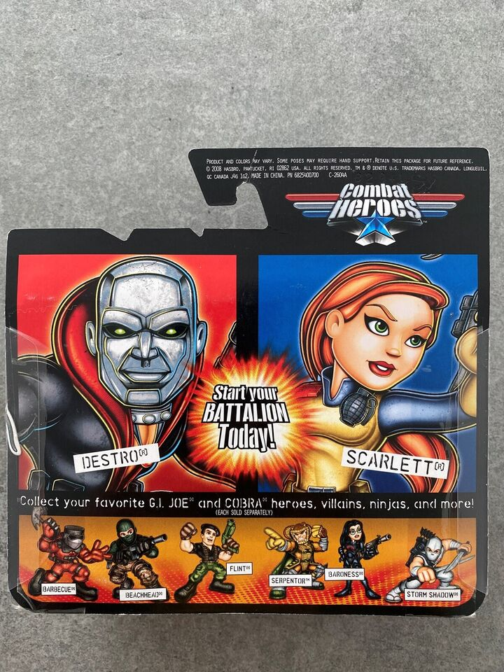Gi Joe, Action Force, Combat Heroes