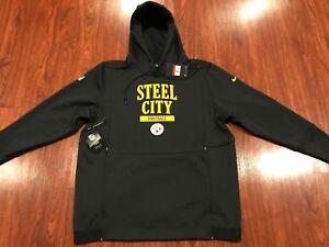 7ef0aa6ee Image is loading Nike-Men-s-Pittsburgh-Steelers-Sideline-Local-Lockup-