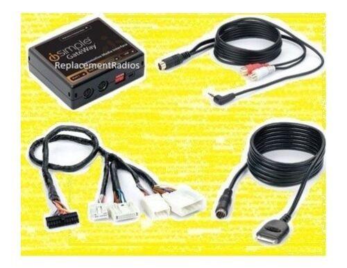 iPod interface auxiliary audio 3.5mm aux input kit For Nissan Infiniti radio
