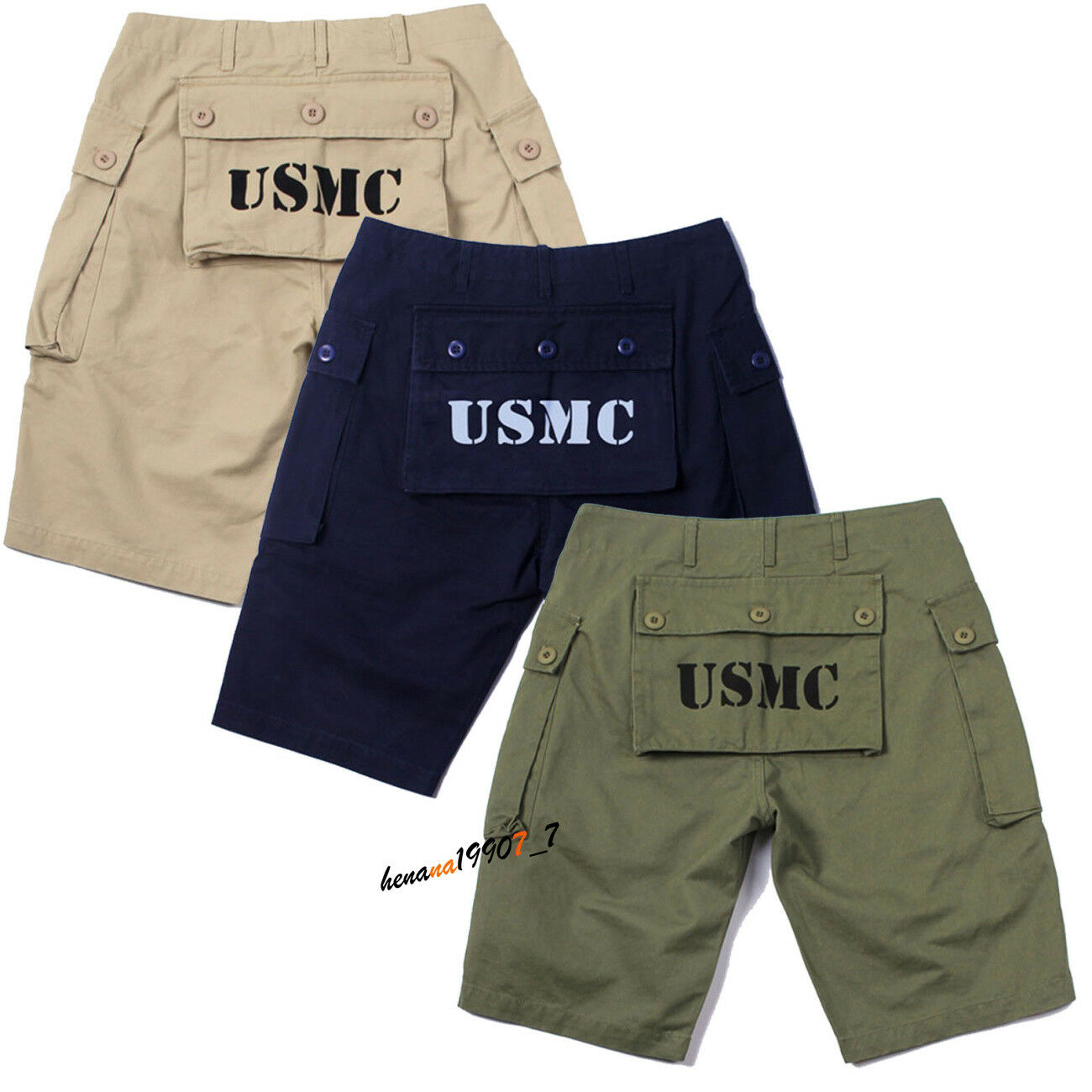 Mens Summer Pants Military Trousers Straight Cotton Cargo Pants Casual Plus Size