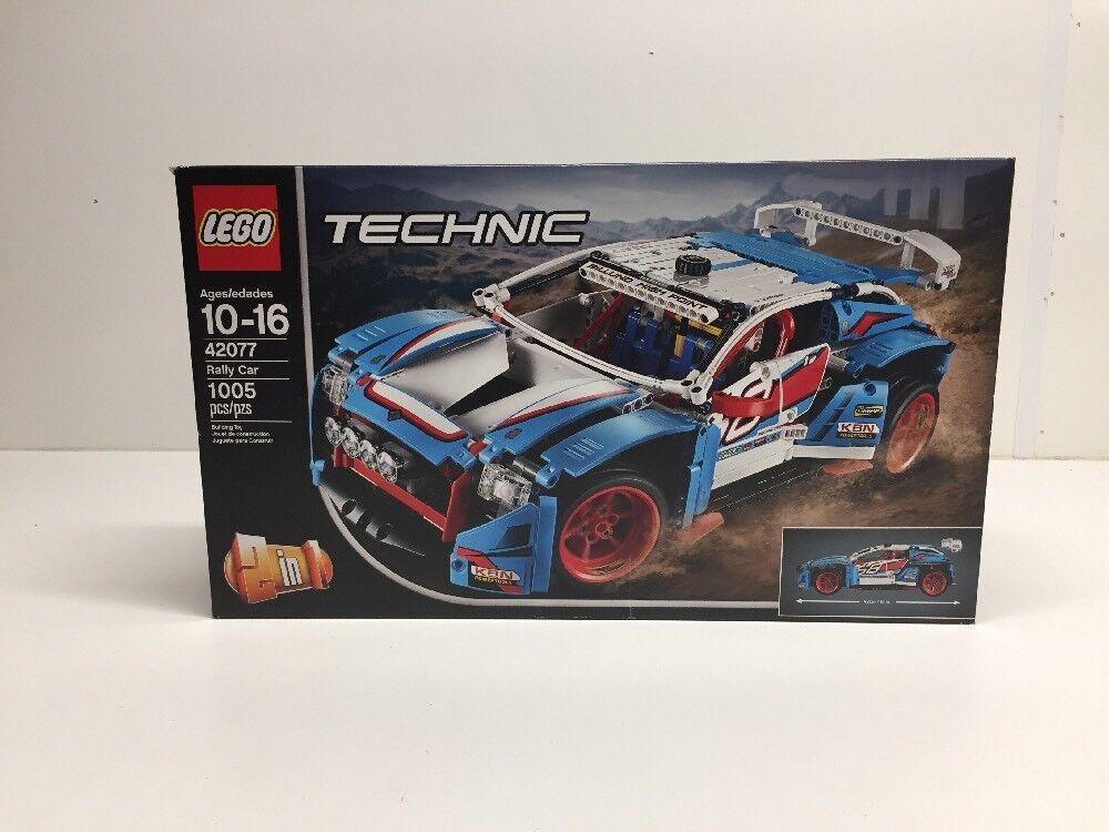 Nouveau LEGO TECHNIC 42077 Rallye Voiture  Neuf Scellé  magasin d'usine de sortie