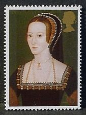Anne Boleyn (wife of Henry VIII) illustrated on 1997 Stamp - U/M