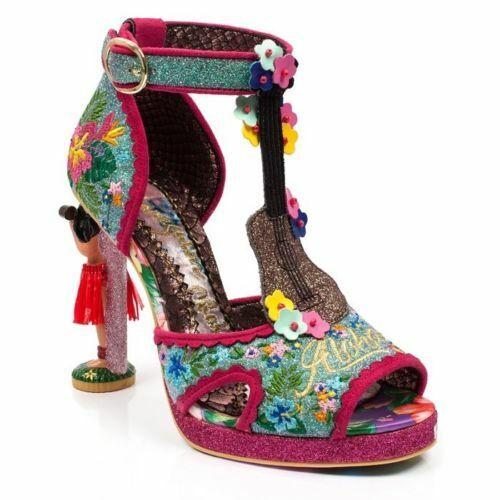 Pink High Heel Shoes EU 42 UK 8 C Irregular Choice Earl Grey