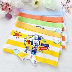 Toddler Kids Girls Minnie Mouse Cartoon Underwear Cotton Children/'s Boxer Shorts