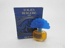 Vintage Folies Bergere Eau de Parfum Miniature mini 2 ml bottle Rare!