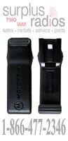 Motorola Pmln4124a Belt Clip Sp10 Sp21 Mv11c Mv21cv Mv22cvs Mu21cv Mu22c