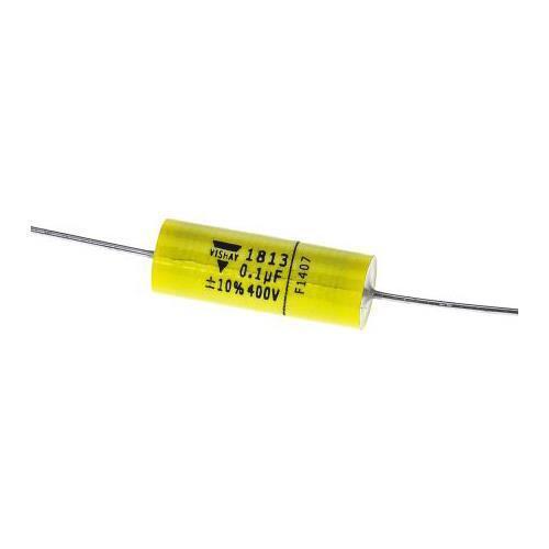 DC 400V ± 10/% Pet 200V AC 5 x Condensatore Vishay 100nF in poliestere MKT1813-410-405