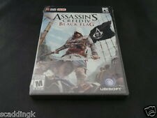 PC Game Assassin's Creed IV 4 Black Flag New Sealed