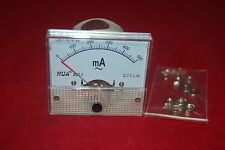 AC 500mA Analog Ammeter Panel AMP Current Meter 85L1 0-500mA  directly connected