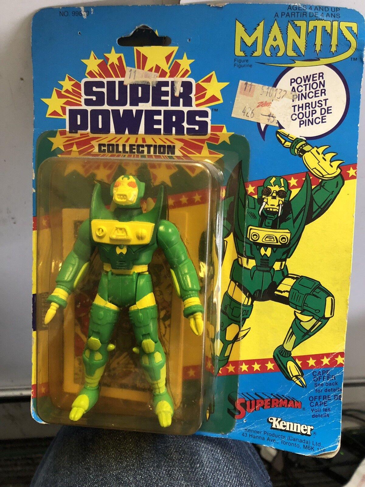 SUPER POWERS MANTIS ACTION FIGURE  KENNER DC COMICS, UNOPENED  ORIGINAL