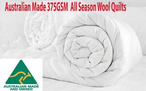 Australian-Made-FACTORY-SECOND-375GSM-All-Seasons-Australian-Wool-Doona-Quilt