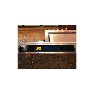 """FanMats University of Michigan Drink Mat 3.25""""x24"""", 14019"""