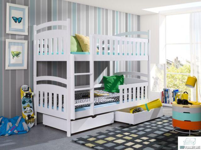 Etagenbett Hochbett Doppelstockbett : Bett kathrin 80x190 etagenbett hochbett doppelstockbett kinderbett