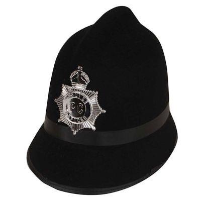 Analytisch London Bobby Polizei Hut Polizeimann Schwarz Kostüm Zubehör Mit Abzeichen Neu Bestellungen Sind Willkommen.