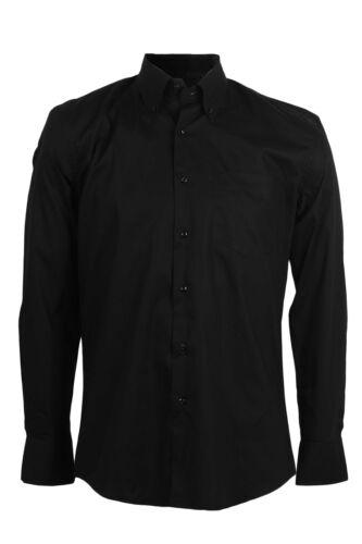 Coveri Collection Camicia da uomo classica nera