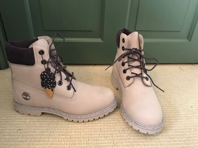 Timberland Ice Cream 6 Inch Premium Boots in lilac marble Size 6.5 UK