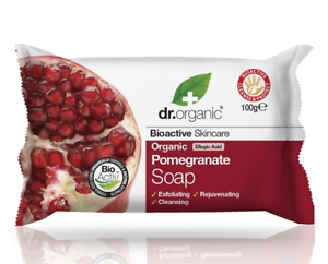 Dr-Organic-Pomegranate-Soap-100g