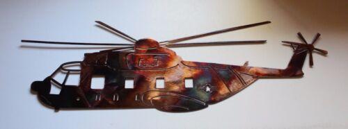 "HH3 Metal Wall Art Decor Copper//Bronze Plated   23 1//2/"" x 7 1//2/"""