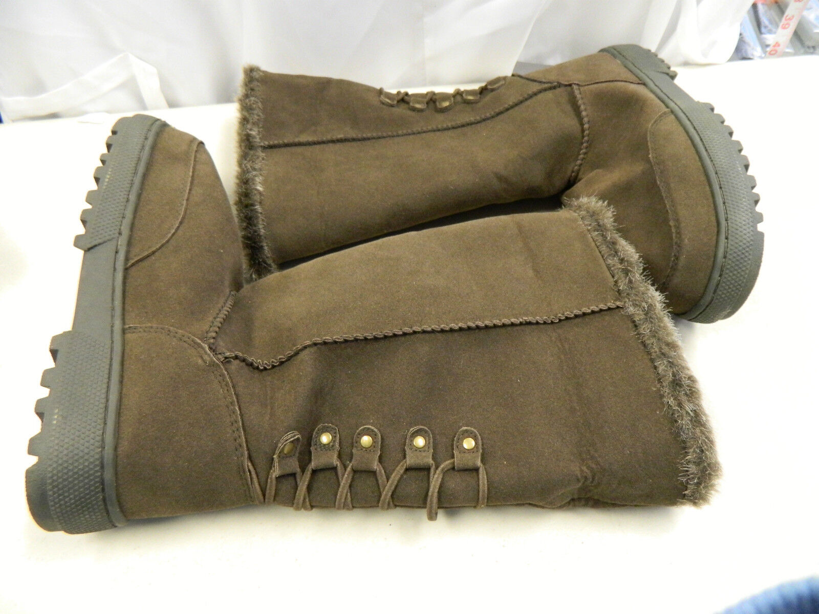 Rampage New Womens Astrid Brown Boots 6 M Boots