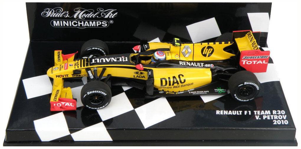 Minichamps Renault F1 R30 2010 - Vitaly Petrov  Scale