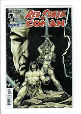 Red Sonja Conan #1 (Dark Horse) - July 2016 Nerd Comic Block Variant NM