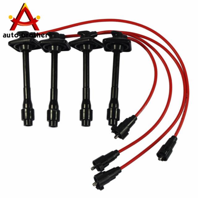 New Ignition Spark Plug Wires Set For Toyota Camry Solara Rav4 2.2L 9091922400