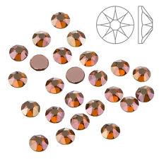 FLATBACK cristal de Swarovski 2078 Hotfix Cobre SS20 Paquete de 24 (K65/12)
