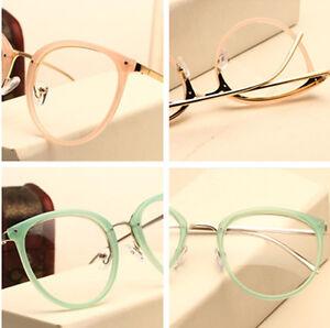 42f78971a9 Image is loading Fashion-Vintage-Men-Women-Eyeglasses-Frames-Glasses-Retro-