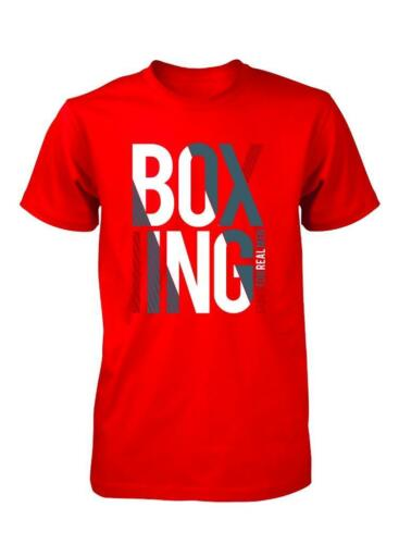 BNWT Boxe Bambini Alla Moda T-shirt 3-15 anni