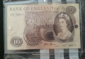 Bank-Of-England-Ten-Pound-Note-Fforde-10-Note-A77584712-in-Magnetic-Acrylic