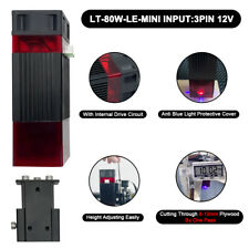 80with10w Le Mini Laser Module Head Kit For Cnc Engraving Cutter Engraver Machine