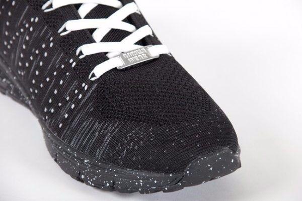Gorilla Wear Brooklyn knitted sneakers – Black/White Shoes  Schwarz/Weiß