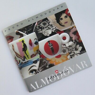 Illy Art Collection PEDRO ALMODOVAR CATALOGUE BOOKLET 14,5 x 14,5 cm | eBay