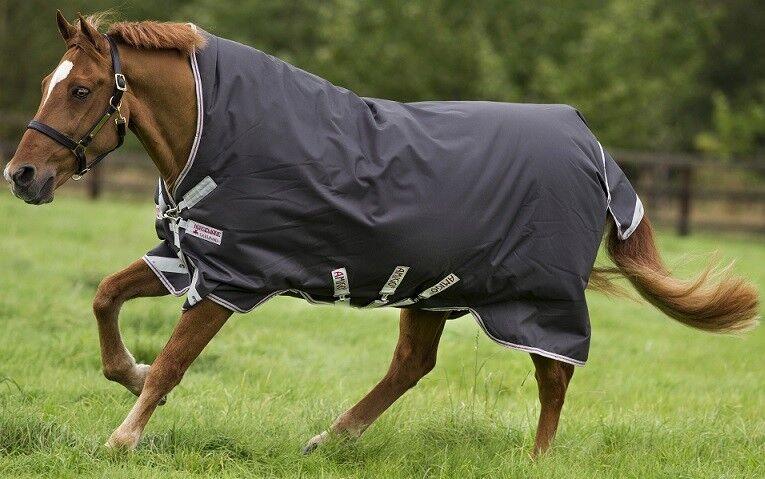 Pferdo 24 Horseware amigo bravo 12 WUG 400g Excalibur lluvia manta outdoordecke Top