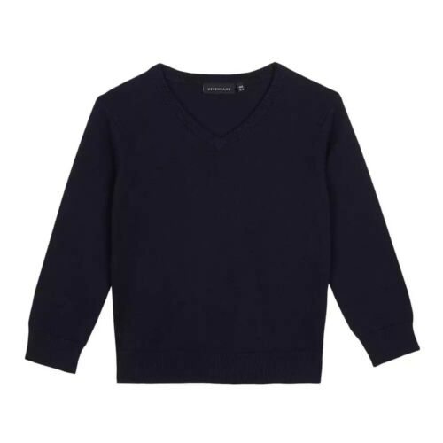 Debenhams Children/'s Navy V Neck Jumper BNWT School Uniform