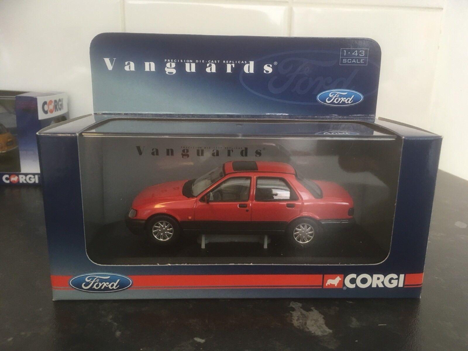 Vanguards Ford Sierra Sapphire GLS Radiant rouge 1 43 En parfait état, dans sa boîte LTD ED VA09900