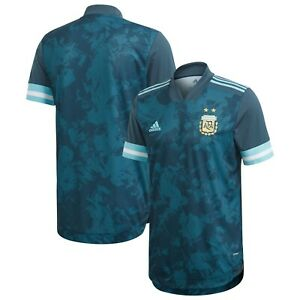 Details about adidas Argentina Copa America 2020 Away Soccer Jersey Blue Teal Kids Youth