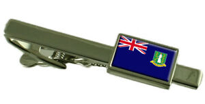 Britannique Virgin Islands Pince à Cravate - Barre avec Select Gifts Pochette f73QMhDn-09154900-743357107