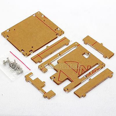 New Clear Acrylic Box Enclosure Transparent Case for Arduino Uno R3 board R3