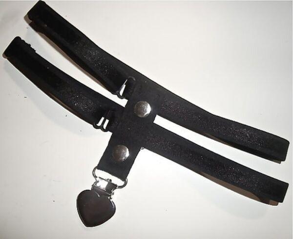 Ein Strumpfhalter Strapshalter Strumpfband Doppelt mit Herz