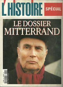 Les-Collections-de-l-039-histoire-LE-DOSSIER-MITTERAND-N-253