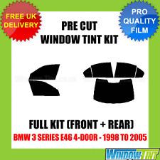 BMW 3 Series E46 4-DOOR 1998-2005 COMPLETO TASTINI finestra Tinta KIT