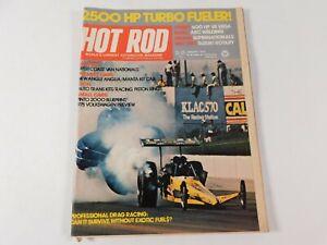 Vintage Original January 1975 Hot Rod Magazine Automotive Custom Car Mods
