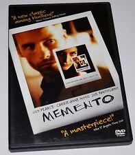 Memento (DVD, 2001) Christopher Nolan