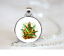 Stoner Fire It Up PENDANT NECKLACE Chain Glass Tibet Silver Jewellery