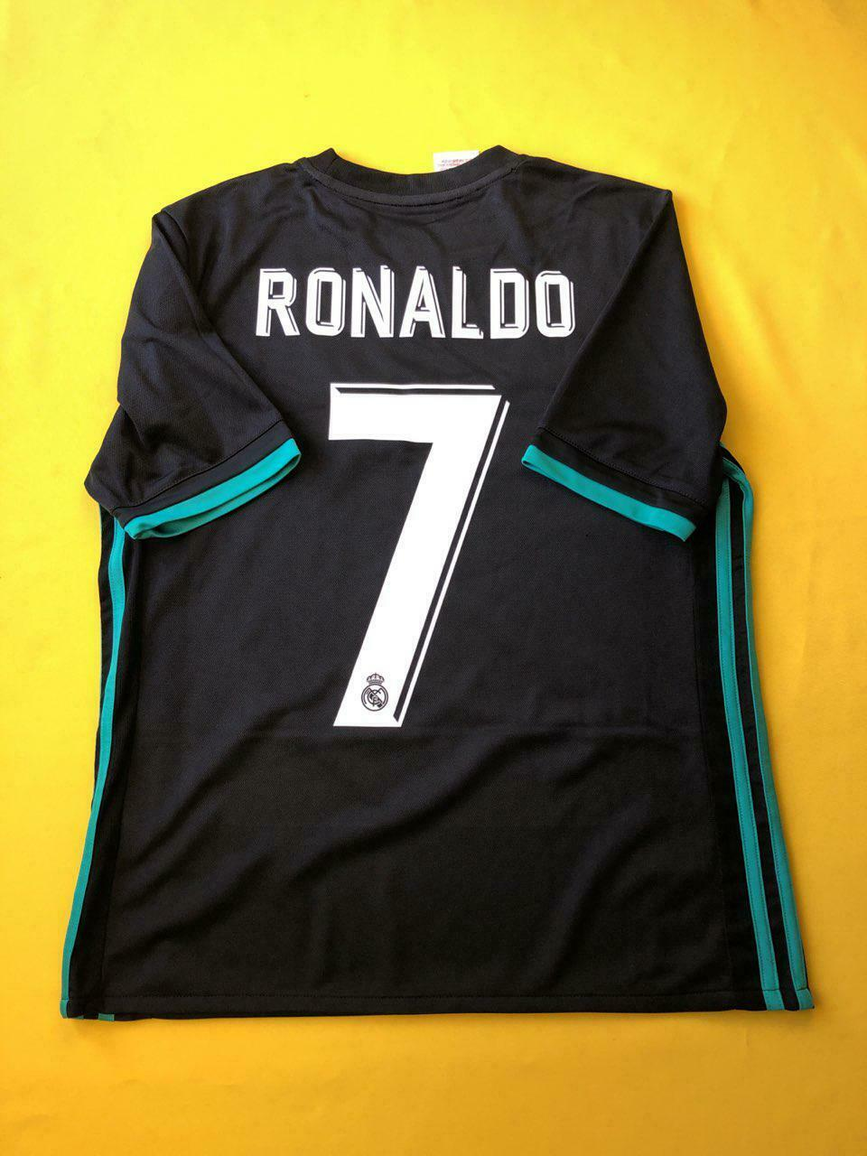 20864da6ec1 5+ 5 Real Madrid jersey kids 13-14 years 2018 away shirt B31092 Adidas